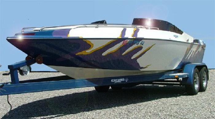 $12,500 1998 Kachina LaBala 22.5' Open Bow Jet Boat