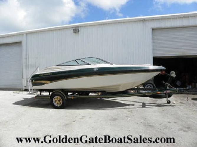 $12,500 1999, 18' CROWNLINE 182 BOW RIDER with Trailer Included