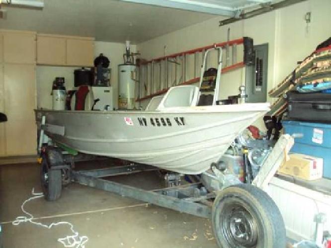 14' Gregor Welded Boat