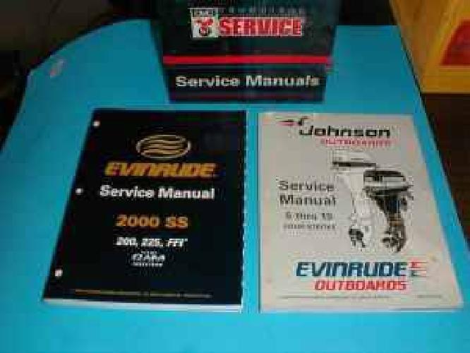 $15 johnson evinrude service manuals (watertown)