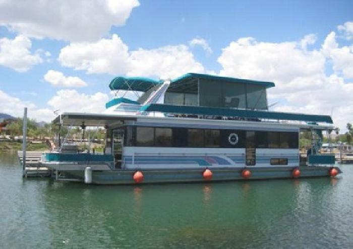 $165,000 1995 Stardust Cruiser 54' Houseboat