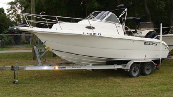 $16,900 21' Sea Fox 2005