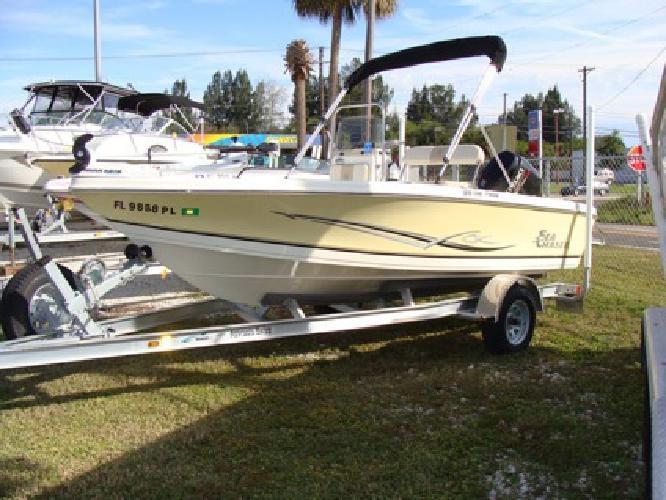 17' Sea Chaser 170 Bay Boat 2013