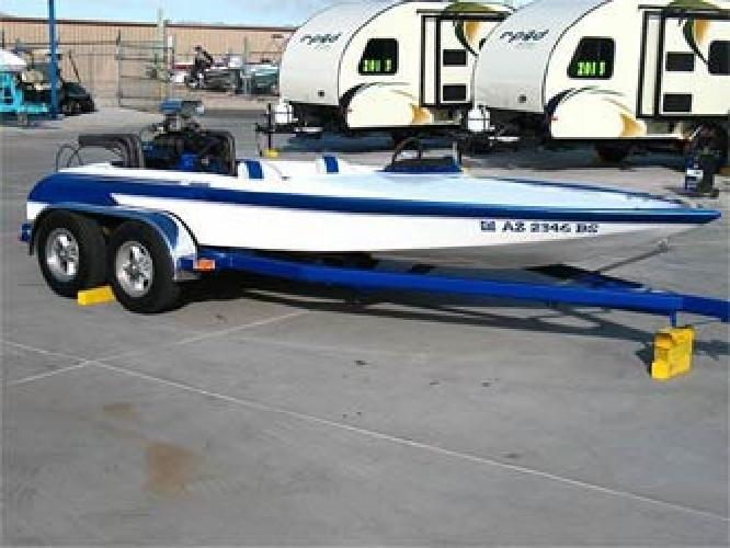 $17,900 1978 Cole Supercharged Jet Boat