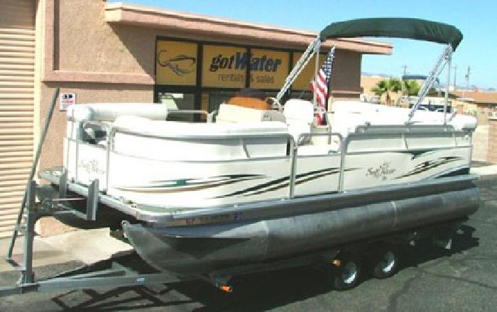 $17,900 2007 Sun Chaser 820 Cruise Pontoon