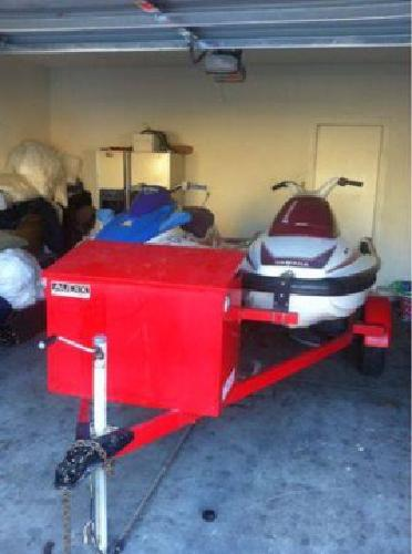 $1,800 2 jet skis and tralior ! (East LV)