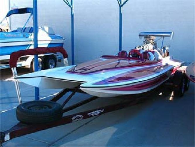 $18,999 1991 19' Canyon Boats Supercharged Cat Hull Jet Hot Boat
