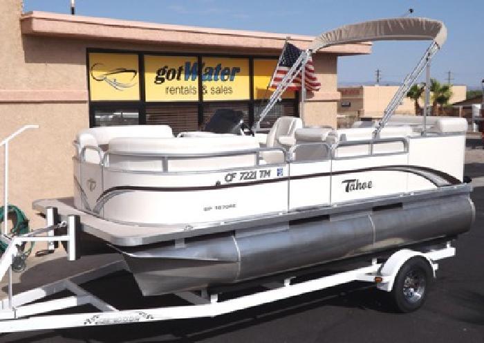 $19,500 2012 Tahoe - Sport RE 16' Pontoon