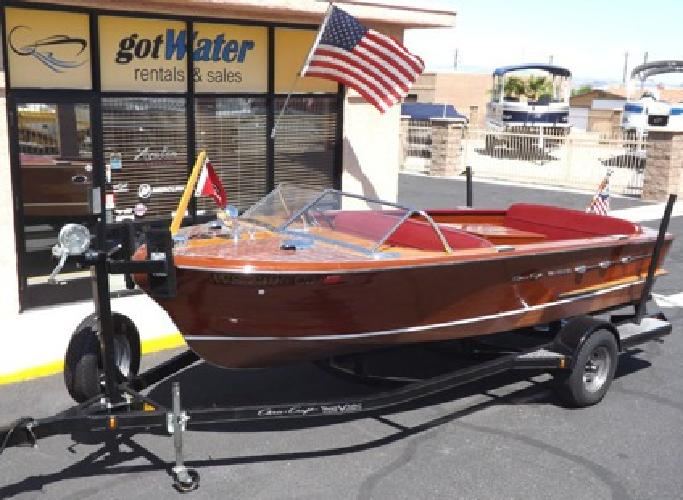 1955 Chris Craft Continental Runabout 18'
