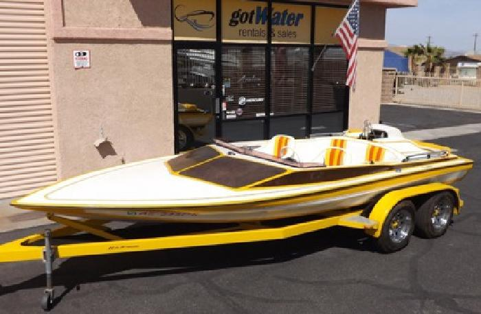 1975 Charger Mini Day Cruiser Jet Boat - 19'