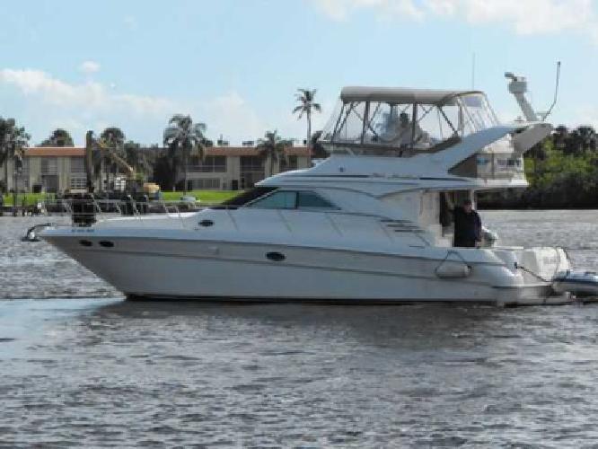 $199,000 2001 Sea Ray 40 SEDAN BRIDGE