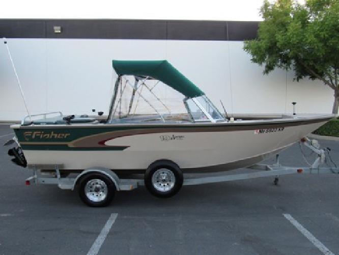 1999 Fisher Mercury 4.3 Avenger 19` Fishing Boat