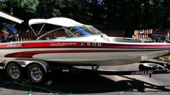 2002 Javelin Fish and Ski Boat Yamaha Vmax 200