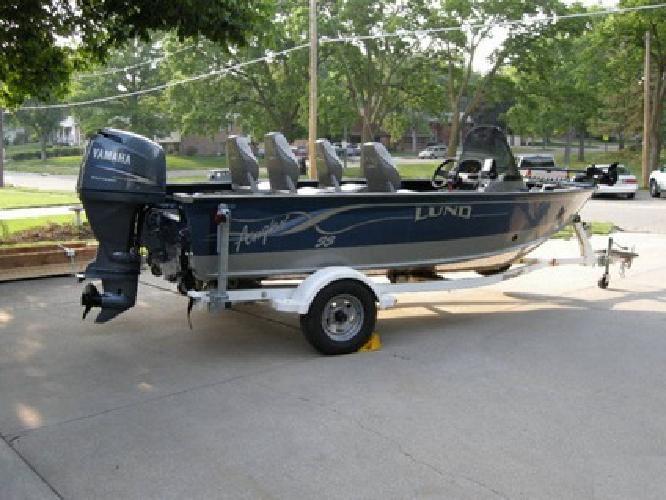 2002 Lund Angler SS 17.2' Boat, 80hp Yamaha 4-stroke Motor