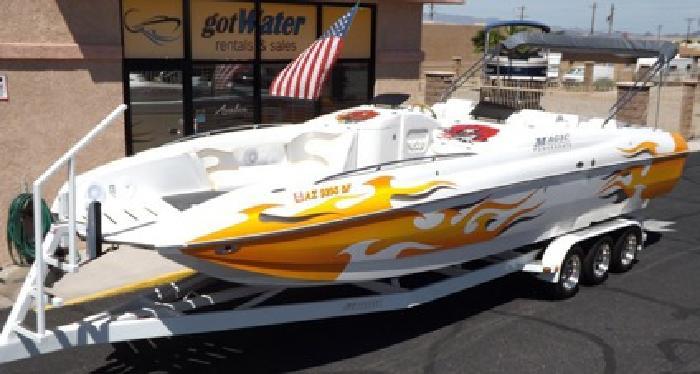 2003 Magic Deck Boat 28'