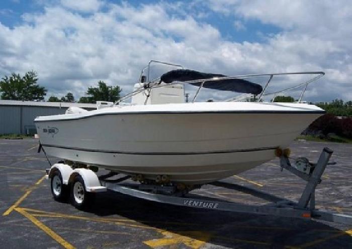 2003 Sea Boss 2100 CC 21FT Fishing Boat