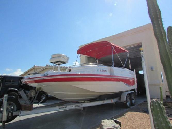 2004 Starcraft Aurora 2009 Deck Boat