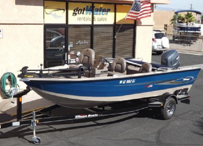 2004 Triton Magnum 176 Bass Boat 17.5'