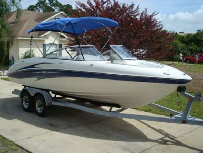 2004 Yamaha Sx230 Twin- 4-Strokes Jet Drive Boat Ski