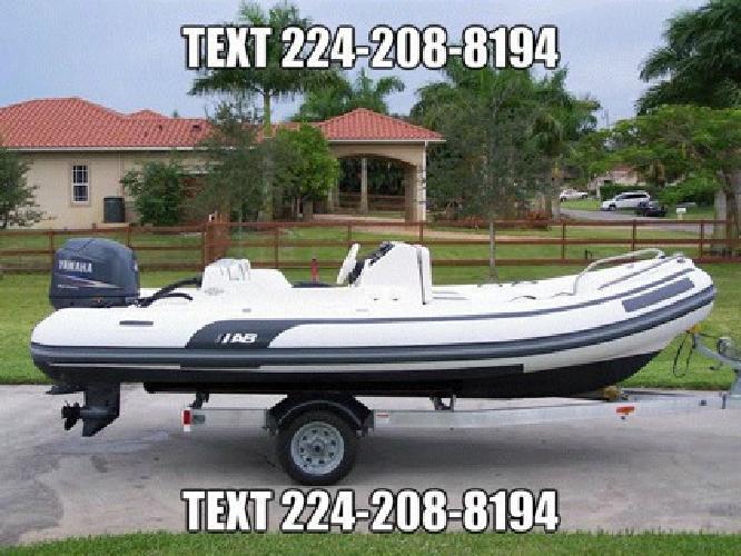 2005 AB Inflatable Boat 15 Feet - Yamaha 60hp 4-Stroke