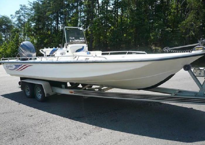 2005 Blue Wave 244 Magnum Yamaha 225 Four Stroke Boat