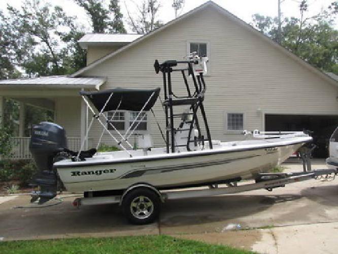 2005 Ranger Bay Tower Boat with a Yamaha 150 4 stroke