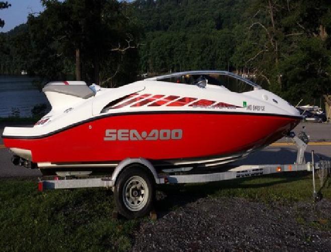 2005 Sea Doo Speedster 200 Boat and Trailer
