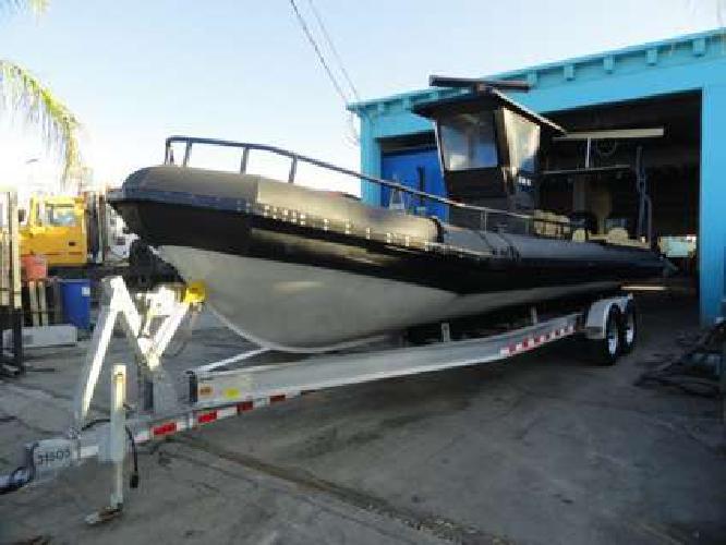 2005 U.S.I.A. 30? 7? Aluminum Boats Twin 2010 Mercury 300 Outboards
