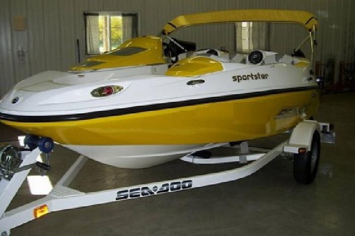 2006 Sea Doo Sportster 155 Jet boat