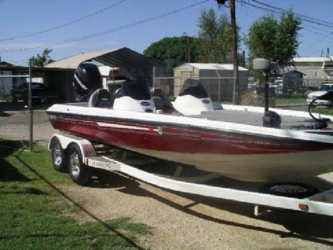 2007 Champion Elite 210 - 250 Mercury Pro Sx Boat