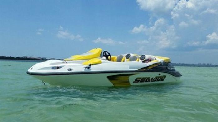 '''2007 ^^Sea Doo 150 '''Speedster 215HP''