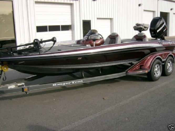 2009 Ranger Z20 Bass Boat Only 156 hours