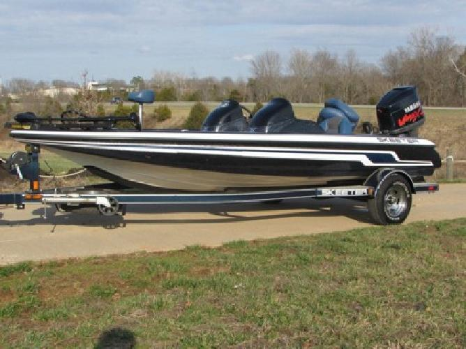 2009 Skeeter Zx190, Yamaha 150 V-Max Matching Trailer Included