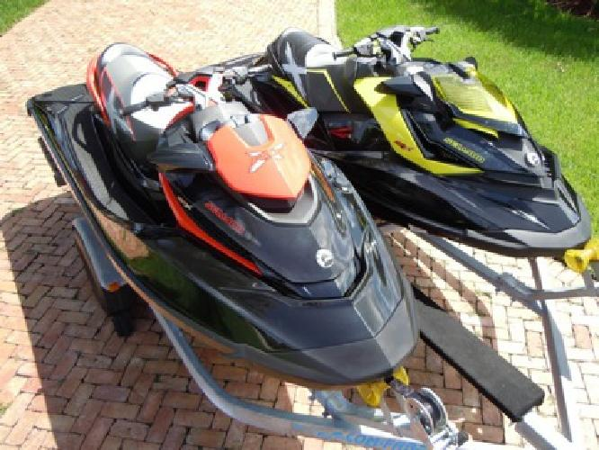 2012 RXP-X 260 & 2010 RXT-X 260 Sea-Doo 260HP Supercharged with double trailer