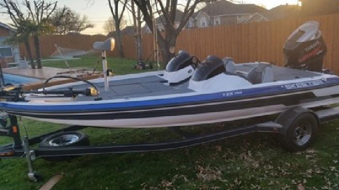 2012 Skeeter TZX 190, absolut pristin Condition, very low Hours