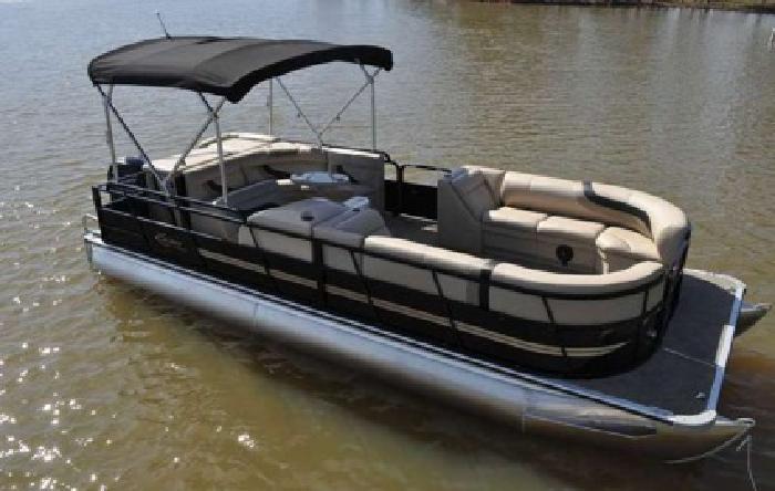,,``2015 Bentley Cruise 243.. tritoon pontoon boat 150 HP