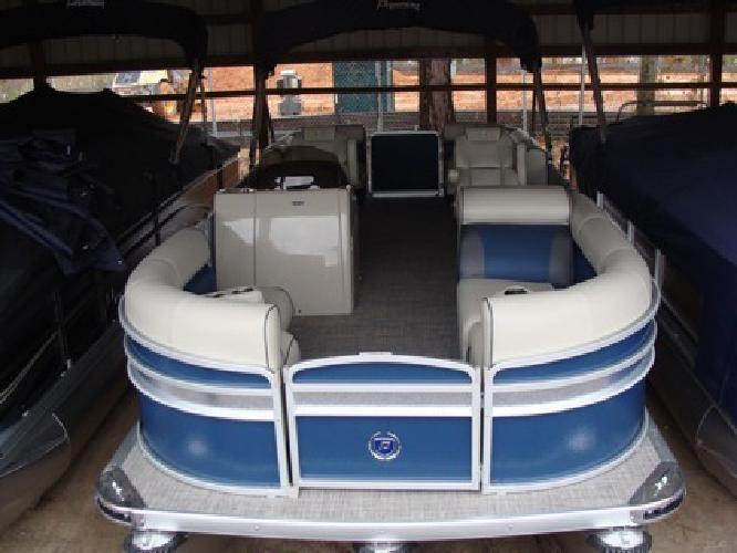 2015 Premier Sunsation 230 RF Tritoon Cadet Blue
