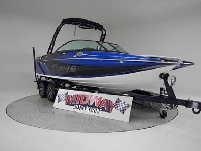 2015 supreme S21 Surf wakeboard boat