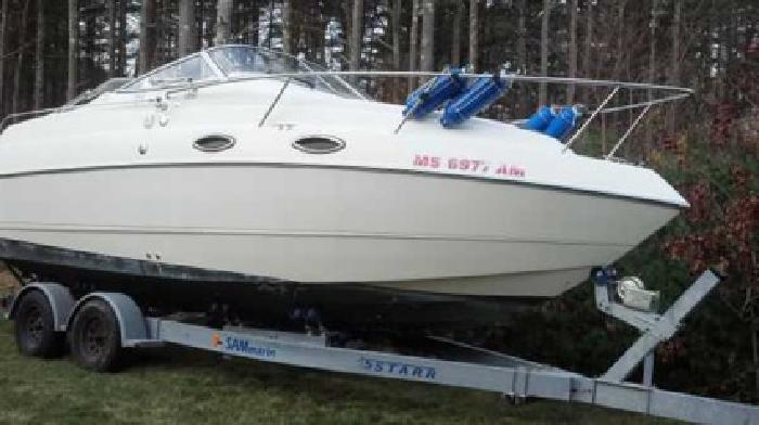$21,000 2004 Stingray 240CS Inboard/Outboard Low Hours (Plymouth, MA)