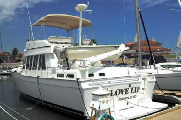 $229,000 Used 2002 MAINSHIP 430 Trawler for sale