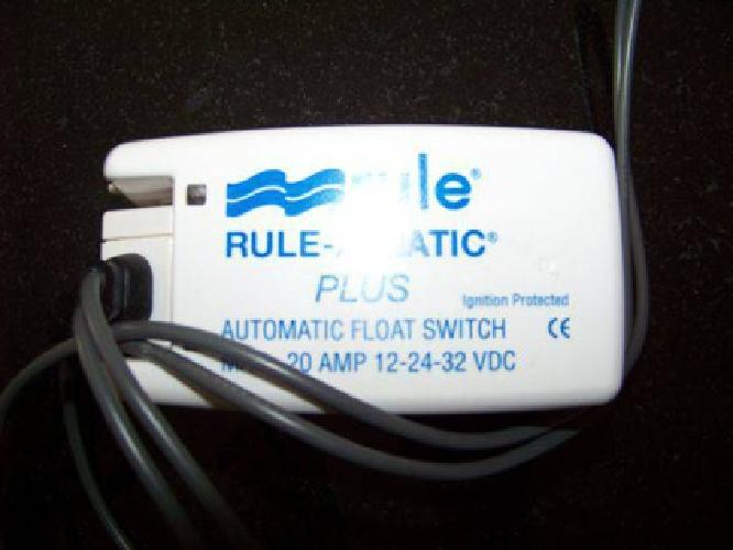 $25 Rule-A-Matic Plus Automatic Float Switch (Pembroke)
