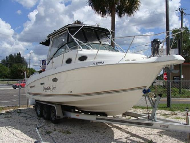 27' Wellcraft Coastal 270 Tournament Edition 2001