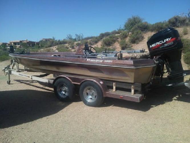 $2,810 1986 Ranger Bass Boat Mercury 200 EFI