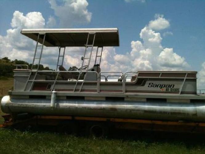 $2,950 1988 Sanpan pontoon