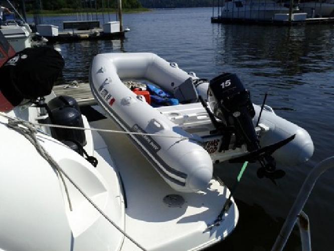 $2,950 Rigid Inflatable Boat (RIB) & 15hp Merc