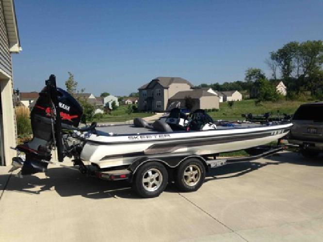 $31,000 2009 Skeeter ZX 225 Bass Boat