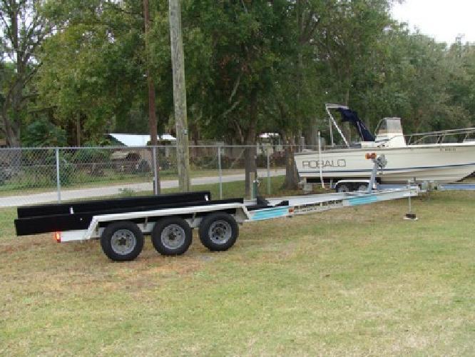 $3,150 2004 Aluminum Triple axle boat trailer