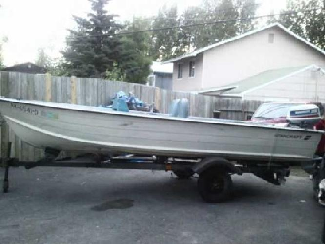 $3,300 Aluminum Boat and trailer 3,300obo