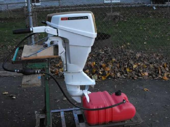 $350 Chrysler 10 hp outboard (peabody)