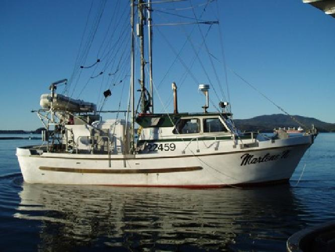 37' Commercial Fishing Freezer Troller